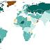 Number of people per square kilometre of arable land (2005)
