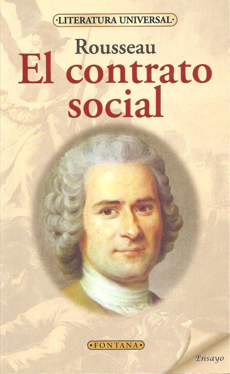 Selección de libros de filosofía - El contrato social, de Rousseau