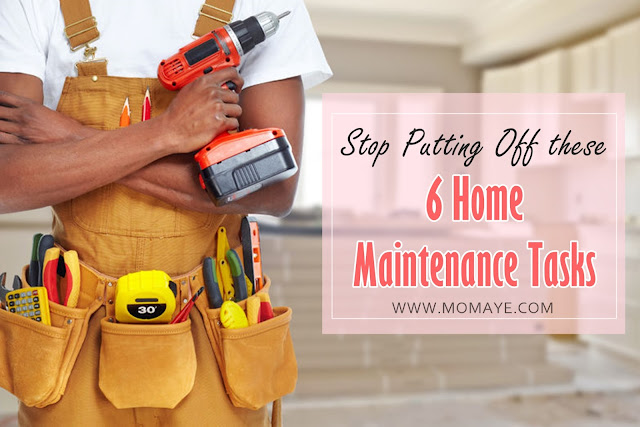 home, home and living, home maintenance tasks