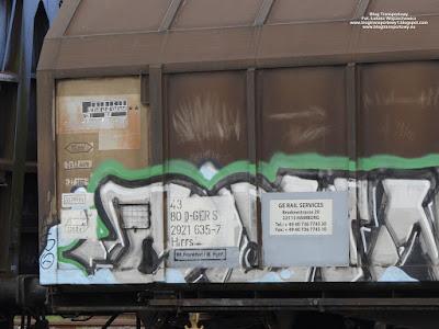 Stacja Głuchołazy, wagon kryty z przesuwnymi ścianami, GE Rail Services