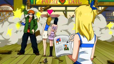 Kriteria Cowok Idamannya Lucy Fairy Tail