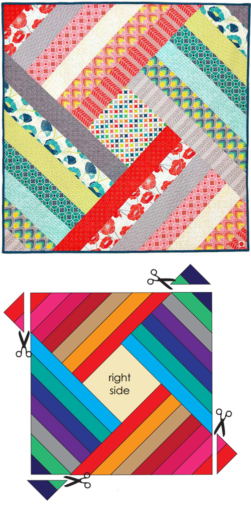 Spin Me Round Quilt - Free Pattern