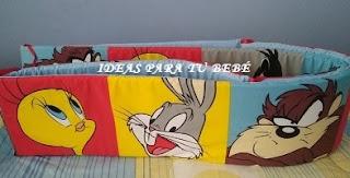 Chichonera de cuna Looney Tunes