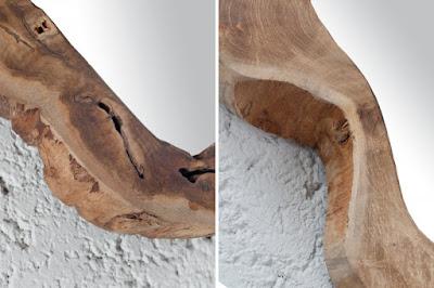 zrcadla Reaction, nábytek z masivu, dřevěný nábytek