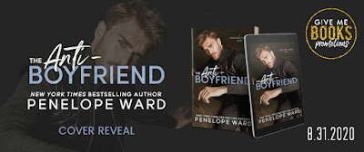 Cover Reveal: The Anti-Boyfriend by Penelope Ward