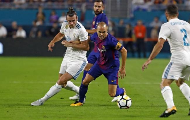 Чемпіонат Іспанії: Барселона перемогла Реал з рахунком 3:0