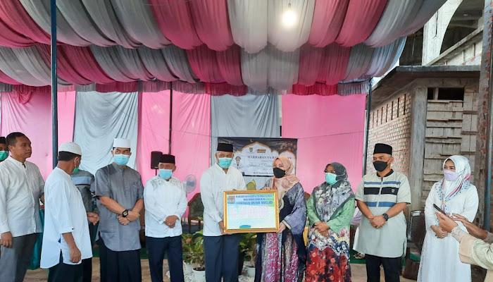 Safari Ramadhan, Pemkab Musi Rawas berikan Bantuan Masjid