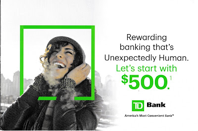TD Bank New Customer Offer