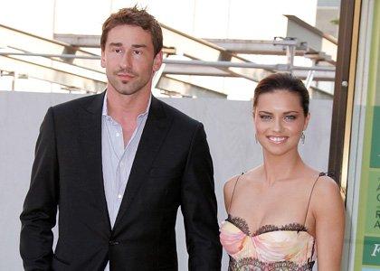 hollywood adriana lima with her husband marko jaric in