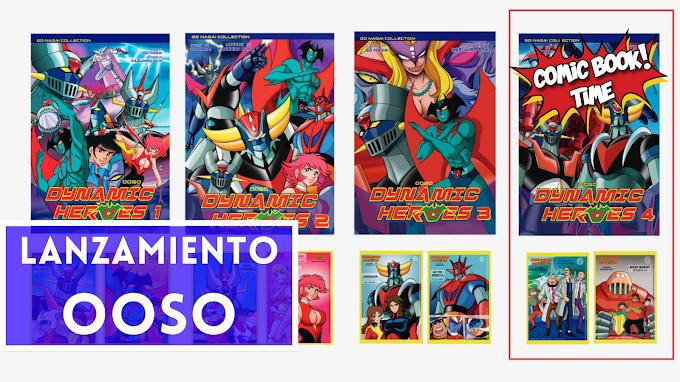 "Lanzamiento Ooso: ""Dynamic Heroes 4"""