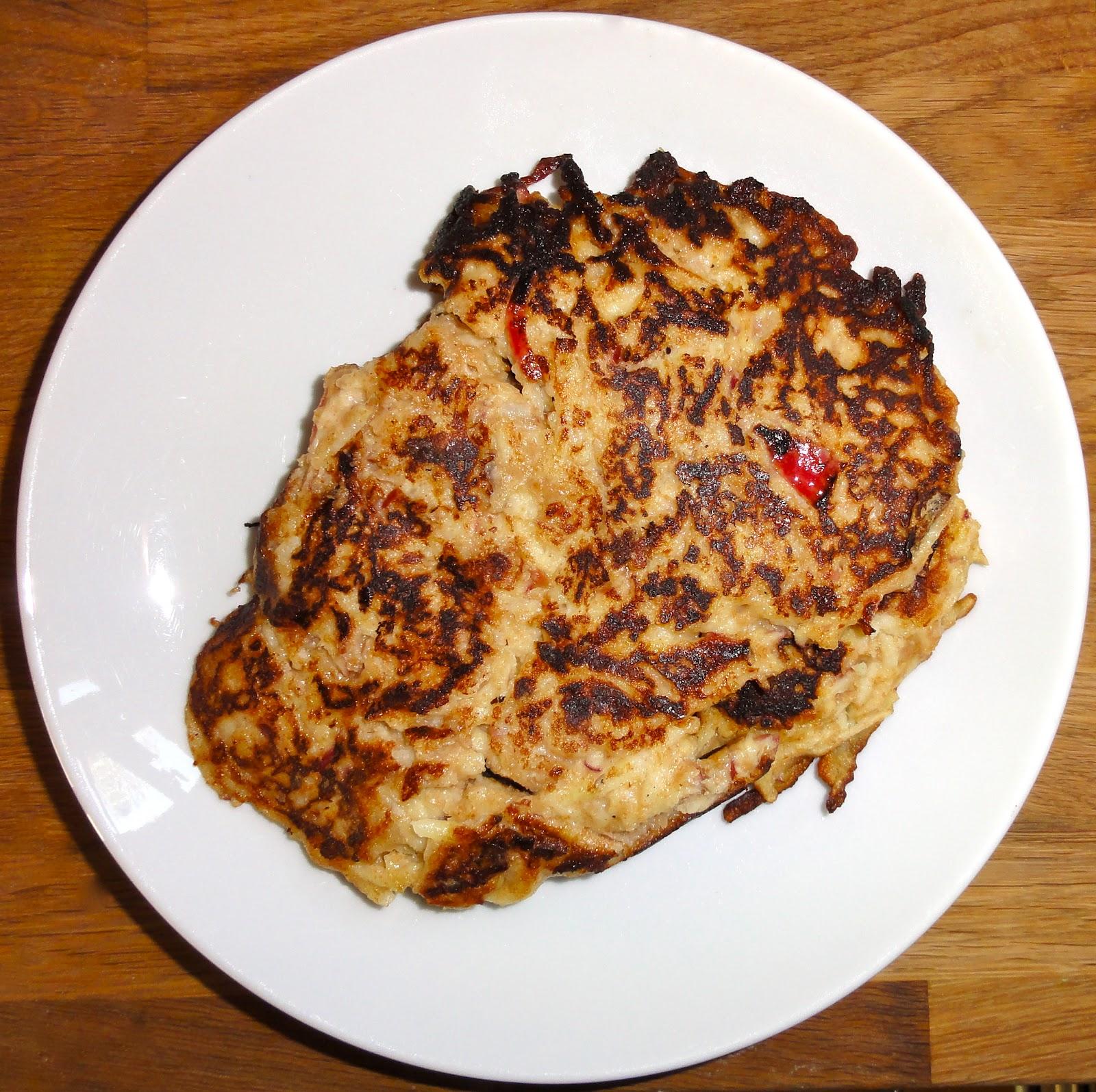 echte hausfrau apple pancake recipe apfelpfannkuchen