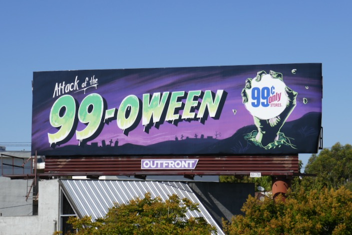 Attack of 99oween billboard