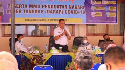 Kelurahan Payobasung Ditunjuk Sebagai Nagari Kader Tanggap Covid-19