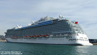 Crucero Sky Princess visto por babor