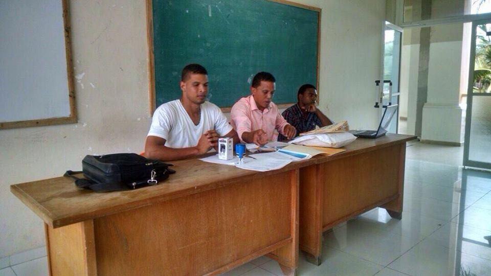 ASODEUCA ( Asociación de Estudiantes Universitarios de Cabral) rinde informe económico a la  FED Barahona