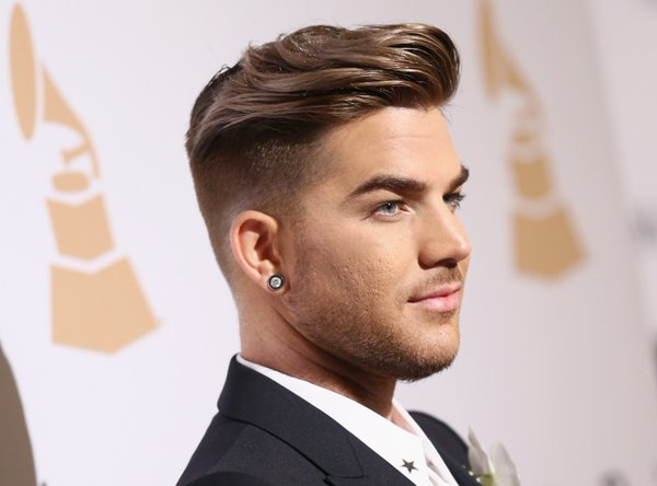 KCBY Site Adam Lambert At The 2016 Clive Davis Pre Grammy