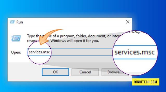 Solusi Error print spooler service is not running di PC