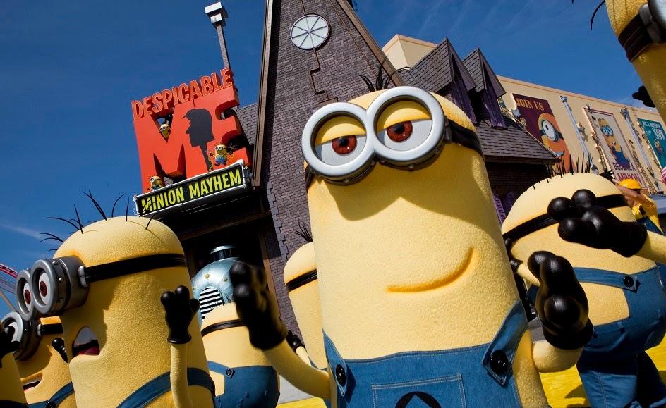 Minions no Universal Studios em Orlando