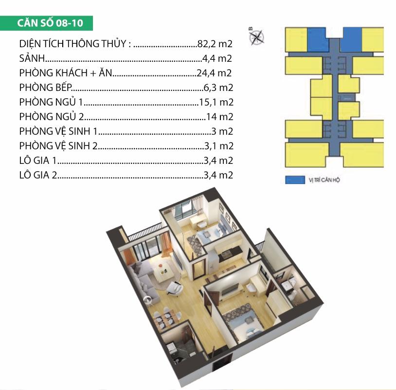 Thiết kế căn hộ 7-8-9-10 Housinco Premium