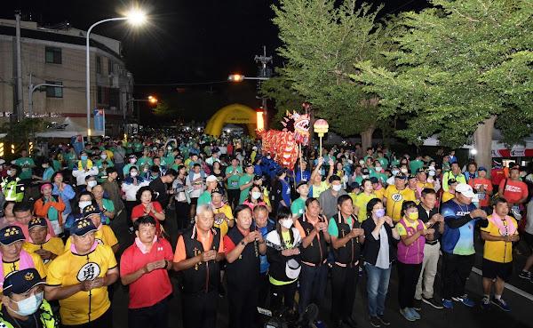 彰化馬拉松冠軍路跑 從埔鹽順澤宮出發