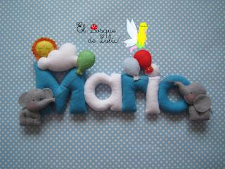 nombre-fieltro-Mario-elbosquedelulu-hechoamanoparati-elefantes-name-banner-regalo-personalizado-nacimiento-decoración-infantil-bebe