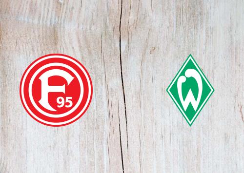 Fortuna Dusseldorf vs Werder Bremen -Highlights 18 January 2020