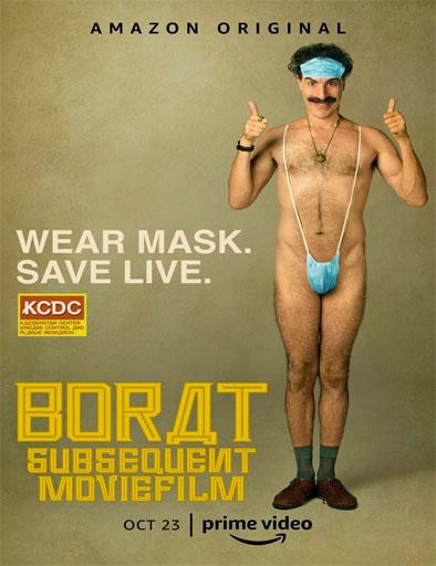 pelicula Borat, siguiente película documental (2020)