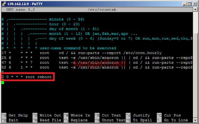 Cara Mematikan Auto Reboot di Script Auto Install SSH dan OpenVPN