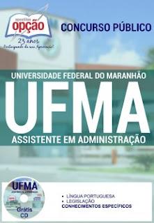 Apostila concurso UFMA - Assistente em Administração