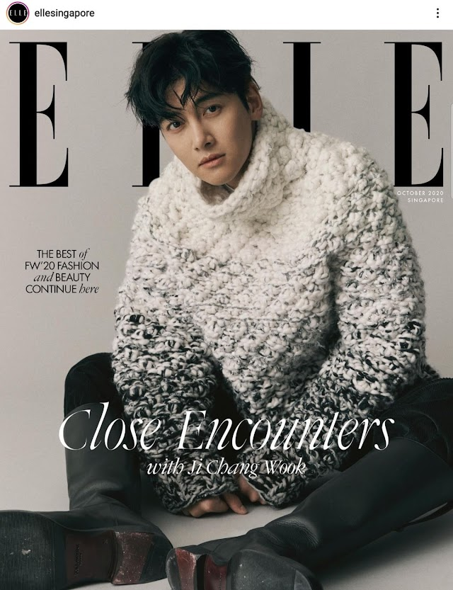 Knetz react to Actor Ji Changwook amazing visual in a pictorial with ELLE!