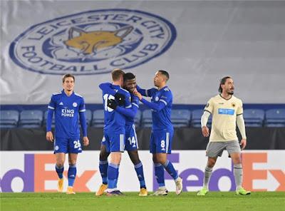 ملخص واهداف مباراة ليستر سيتي وايك اثينا (2-0) الدوري الاوروبي