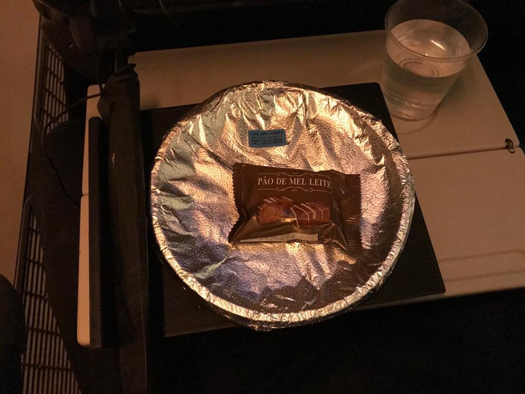 jantar voo Latam internacional