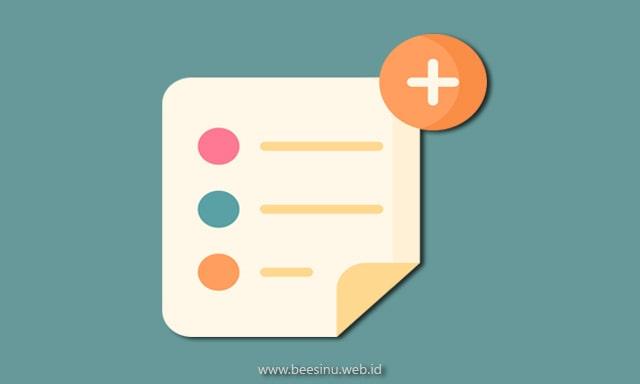 Cara Membuat Kotak Catatan Keren di Postingan Blog