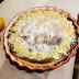 Tarta de queso de cabra, limón y almendras