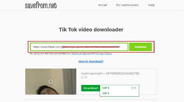 Cara Download Original Sound di TikTok Tanpa Aplikasi