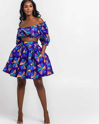 Latest Ankara Short Gown Styles 2020