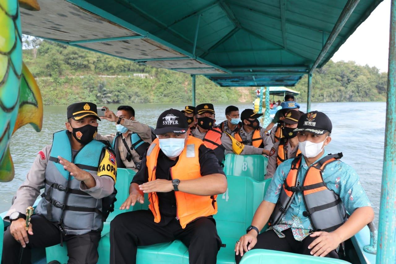 Antisipasi Insiden Maut Kedung Ombo, Kapolres Kebumen Sidak JWA Poncowarno