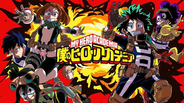 Review Anime: Boku No Hero Academia