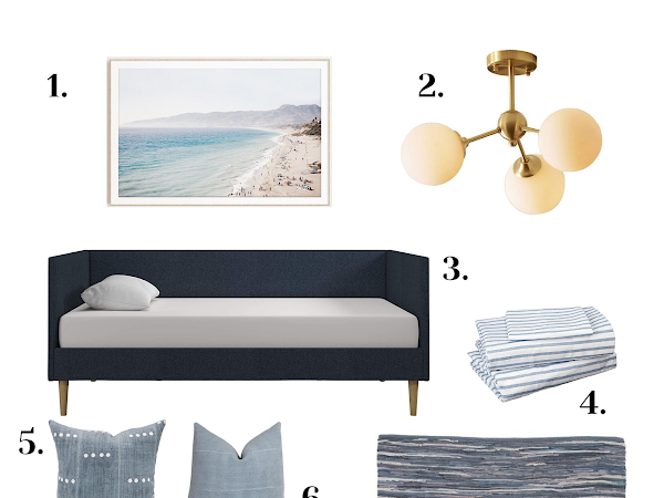 JUDE'S COASTAL THEMED BEDROOM