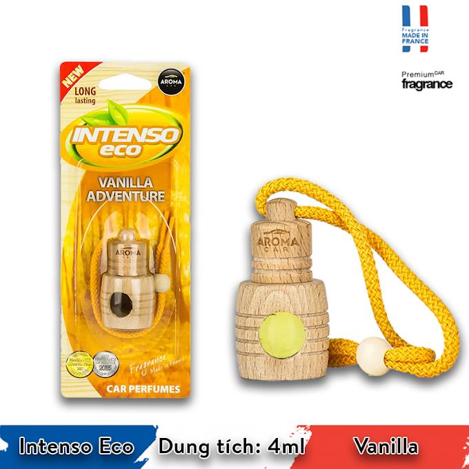 Tinh dầu treo xe Aroma Car Intenso Eco 4ml - Vanilla