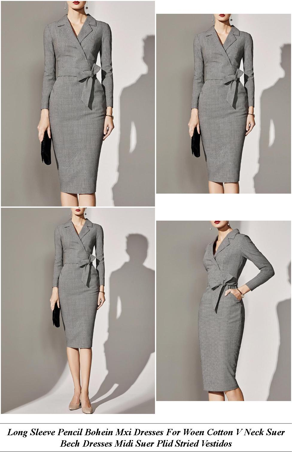 Womens Dress Shops London Ontario - Major Clearance Sale - Womens Lack Long Sleeve Wrap Dress