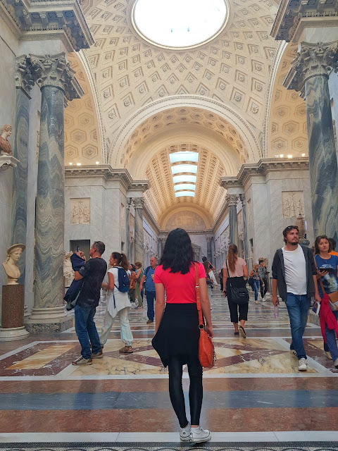 Tati Bertucci Braccio Nuovo Museus Vaticanos Italia