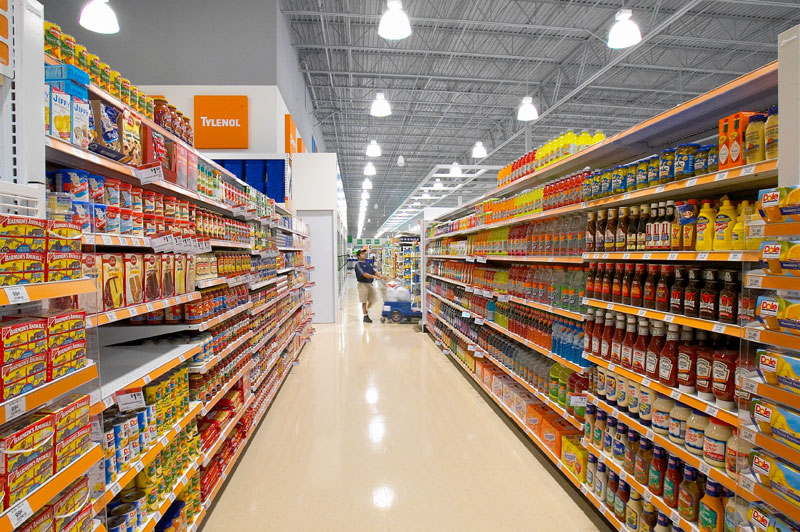 aisles aisle grocery shopping supermarket food stores into