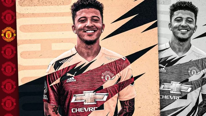 OFFICIAL: Dortmund confirm Sancho's move to Man United for a fixed fee of €85M