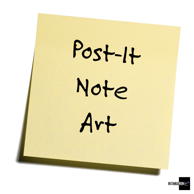 post it note art, google sticky crew, mark taylor,