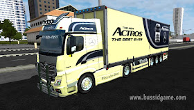 Livery Bussid Truck Hino Mod Truck Mercedes Benz New Actros V2 By Rsm