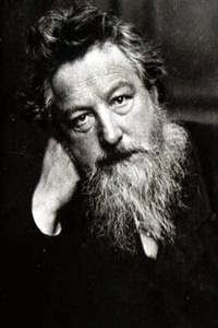Уильям Моррис - английский художник, поэт и общественный деятель