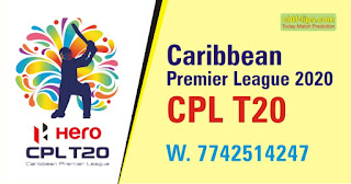 Who will win Today CPL T20 match Trinbago vs Guyana 1st? Cricfrog