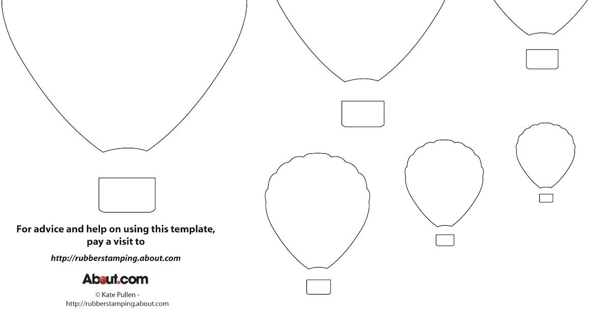 Balloon Zilla Pic: Free Printable Balloon Template