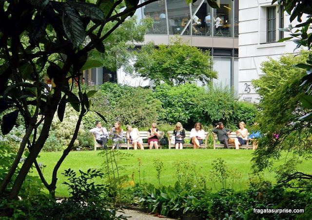 Jardim na City de Londres